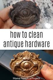 how to clean drawer pulls discover three easy ways to remove rust and dirt from