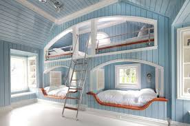 Bunk Beds In Wall Bunk Bed Wall Interiors Pinterest Bed Wall Bunk Bed