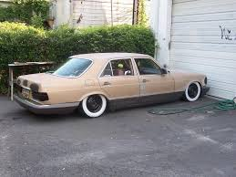 lowered mercedes w123 ratrod 300sd build up mercedes benz forum