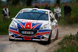 peugeot uk erc 17 19 july chris ingram aims to double up his 21st birthday
