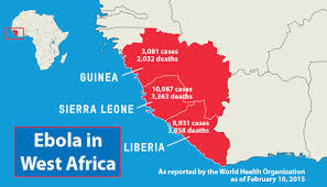west africa map ebola ebola situation looking better ubcentral