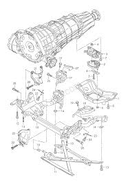 audi usa parts support frame transmission securing parts for 7 audi a4