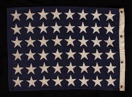 British Flag Nickname Jeff Bridgman Antique Flags And Painted Furniture 48 Star U S