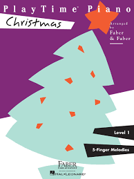 playtime piano christmas faber piano adventures