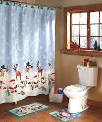 Bath Sets With Shower Curtains Christmas Bathroom Sets Sketchy Sloth The One And Only Portal
