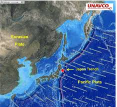 Plate Boundaries Map 2011 Sendai Earthquake And Tsunami Japan Earthquake