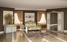 Barock Schlafzimmer Set Barock Stil Julianna In Weiß Gold
