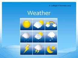 weather teaching ideas