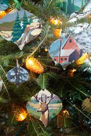 Making Christmas Decorations For Outside 50 Homemade Christmas Ornaments Diy Handmade Holiday Tree