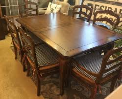 country french dining room chairs french cottage style dining table u0026 6 chairs the refind room