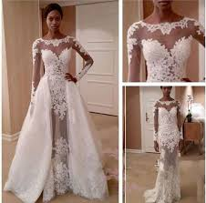 bridal dresses online zuhair murd wedding dresses see through bridal gowns with