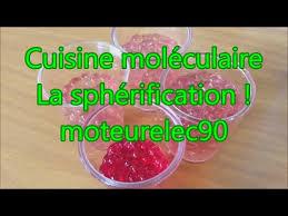 cuisine moleculaire sphérification recette de cuisine moléculaire expliquée