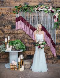 wedding backdrop trends crafty wedding inspiration in a vintage warehouse wedding trends