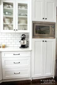 Kitchen Cabinet Microwave Shelf Kitchen Cabinet Hardware Ideas U2013 Fitbooster Me