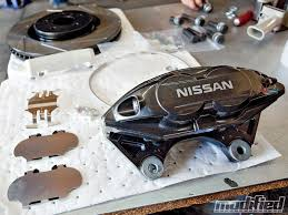 nissan 370z performance parts 370z sport brake upgrade for the 350z modified magazine