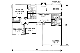 traditional house floor plans traditional style house plan 3 beds 2 00 baths 1093 sq ft plan