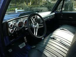 Chevrolet C10 Interior Chevy C10 Pickup