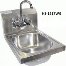 wall mount stainless steel sink ace wall mount stainless steel hand sinks w no lead facuet jks