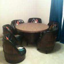 Whiskey Barrel Chairs Whiskey Barrel Chairs Tables Bar Couch Poker Table
