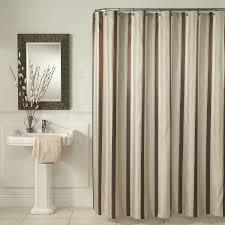 Shower Curtain Striped Grey Horizontal Stripe Shower Curtain Shower Curtains Ideas