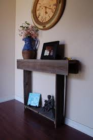 Diy Entry Table by Skinny Console Table Small Entry Table Tiny Tables Reclaimed
