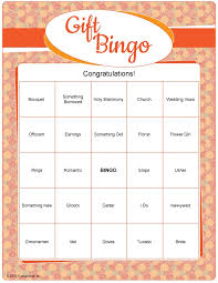 bridal shower gift bingo 45 best celebrating home bingo ideas images on bingo