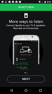 how to listen to with screen android what s new screen spotify ui inspiration interface