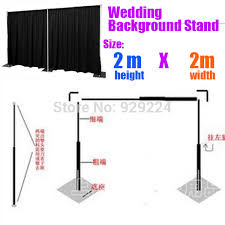 wedding backdrop frame 6 5ft x 6 5ft backdrop frame wedding backdrop stand wedding