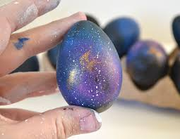how to make easter eggs how to make colorful galaxy easter eggs