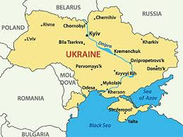 map ukraine ukraine map blank political ukraine map with cities