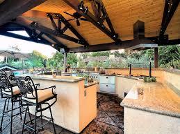 kitchen rustic summer kitchen with exposed beam summer kitchen