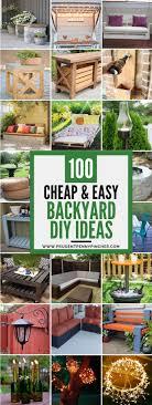 Diy Backyard Garden Ideas Cheap And Easy Diy Backyard Ideas Best On Pinterest Landscaping