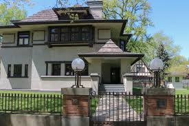Harbinger Tiny House by Frank Lloyd Wright In Oak Park