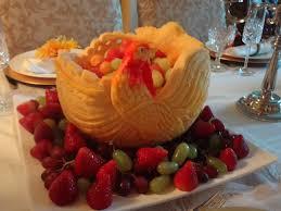 thanksgiving fruit basket turkey pumpkin carving for thanksgiving thai creations