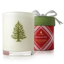 thymes frasier fir thymes frasier fir wood wick candle gifts