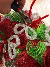 deco mesh wreath hometalk