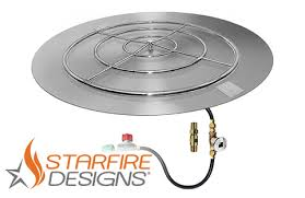 48 Fire Pit Ring by 48 U201d Round Flat Pan 36 U201d Ring Match Lit Fire Pit Kit U2013 Lpr
