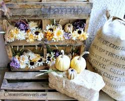 Outdoor Fall Decor Outdoor Fall Decorations With Pallets