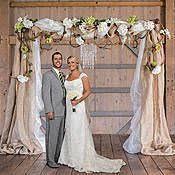 wedding arches decorated with burlap 14 best wedding arbors images on wedding arbors