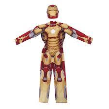 genuine kids avengers iron man mark 42 patriot muscle child