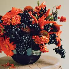 halloween wedding ideas martha stewart fall arrangements martha stewart