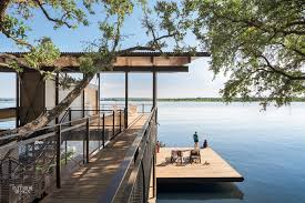 lake flato and plus two interiors design a vacation house that