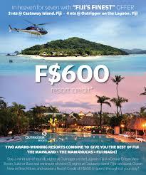 fiji deals packages castaway island fiji