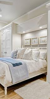 Headboards With Built In Lights Built In Wardrobe Lots Of Pillows Pictures Over The Headboard