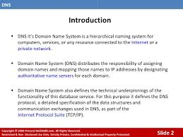 Domain Naming System Dns Tech by Domain Name Server