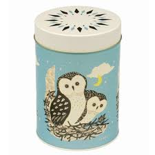 Owl Canisters by Hanna Owl Tin Oakroom Shop