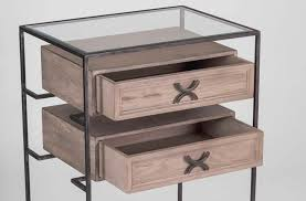 Metal Nightstands With Drawers Metal Nightstands With Drawers Hardware Home Improvement