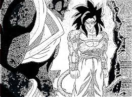 image ssj4 goku manga style jpg sketching wiki fandom