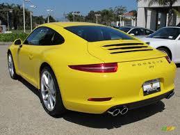 porsche yellow paint code 2013 racing yellow porsche 911 carrera coupe 68889694 photo 3