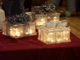 i love making things with glass blocks these lighted packages are